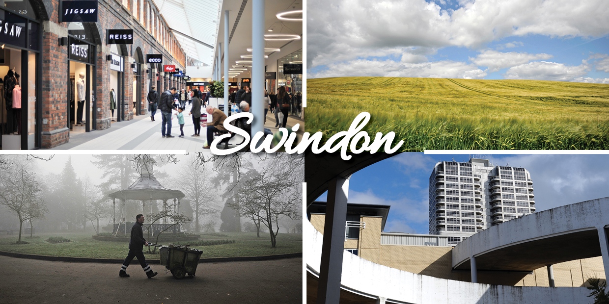 It's official. Swindon is a great place to live and work.