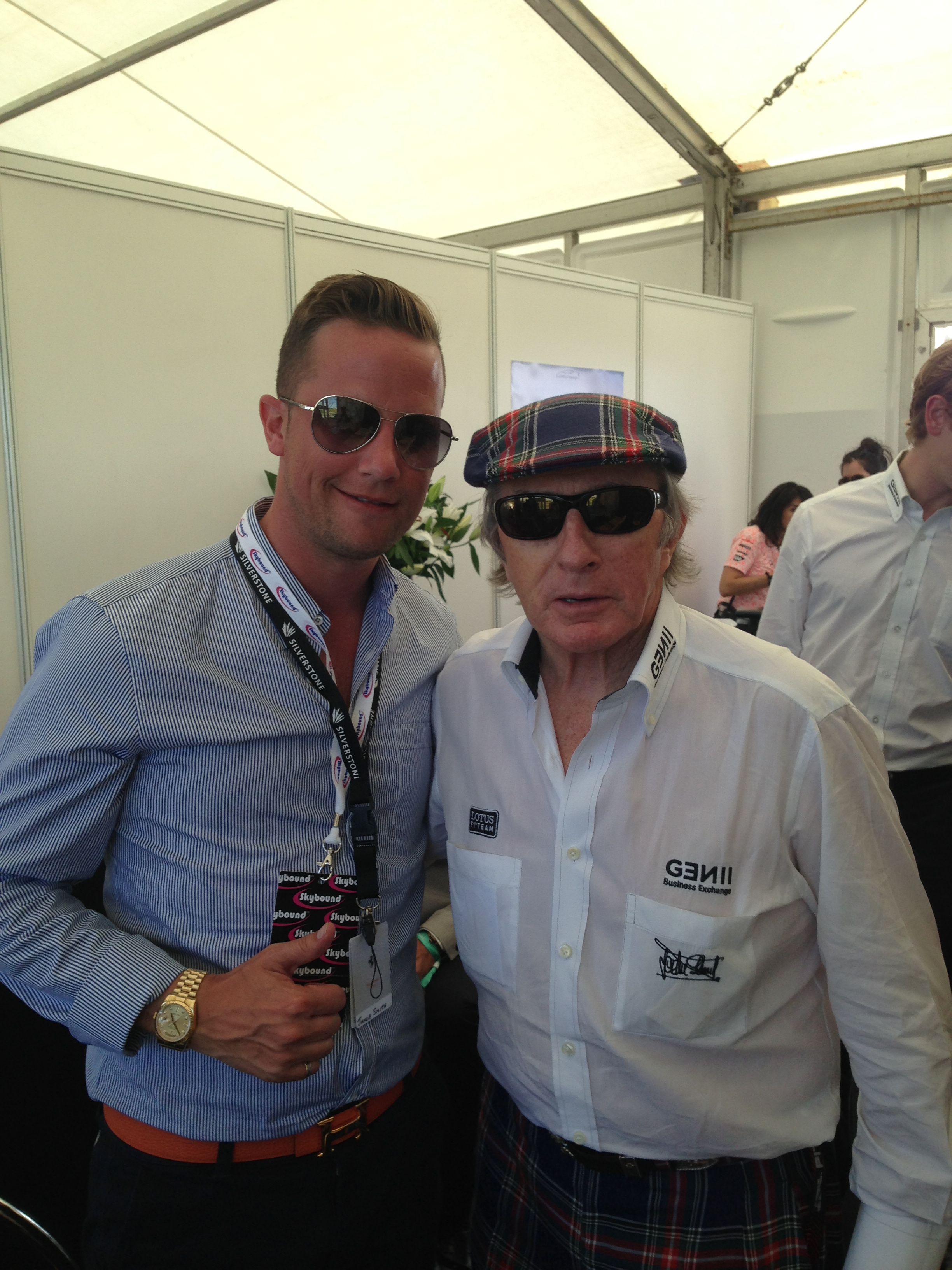 Sir Jackie Stewart F1 Legend talks dementia