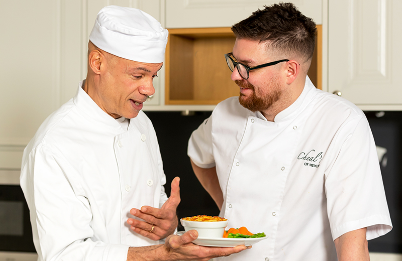 Award-winning chef brings inspiration to Mockley Manor Care Home