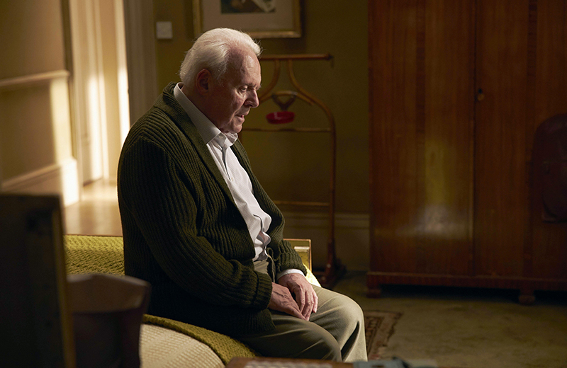 Anthony Hopkins wins Best Actor Oscar for portrayal of character with dementia