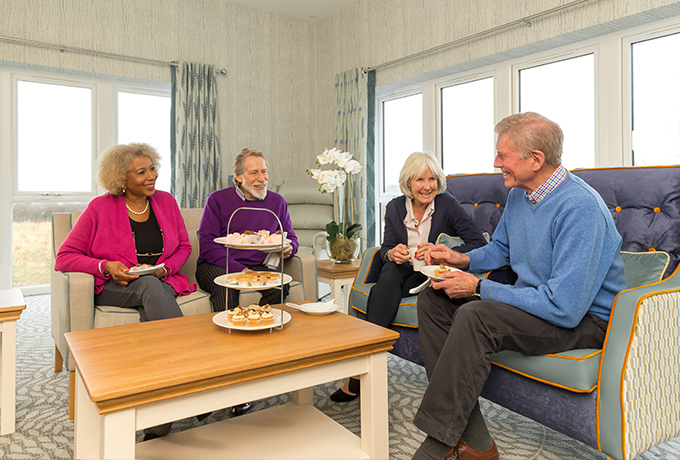 Mockley Manor Care Home receives high praise on care home reviews website