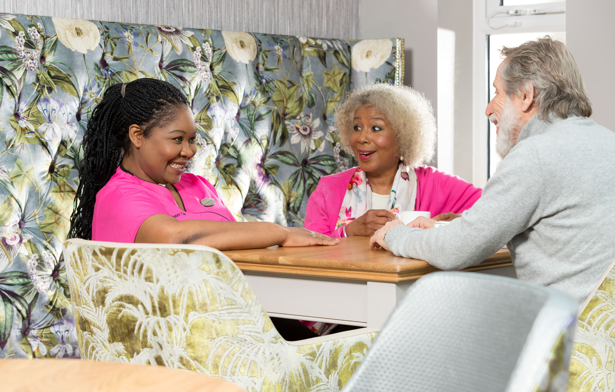 """Family-run care home provider for over 25 years.""